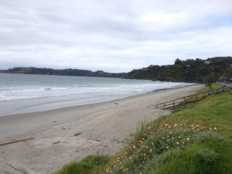 Onetangi Beach Waiheke Island in New Zealand