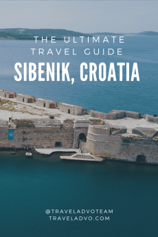 Sibenik Croatia pin