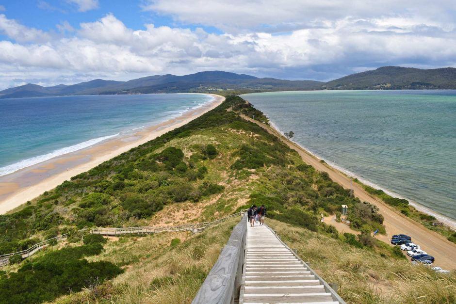 Ferry to Bruny Island in Tassie Australia
