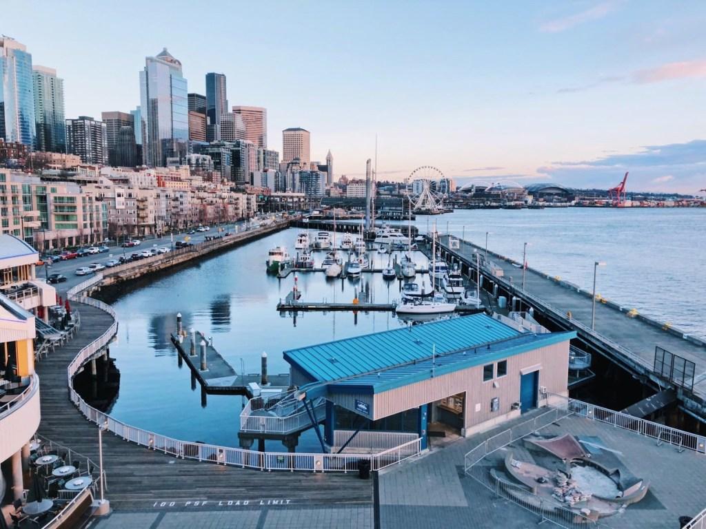 Views from Pier 66 Seattle Washington