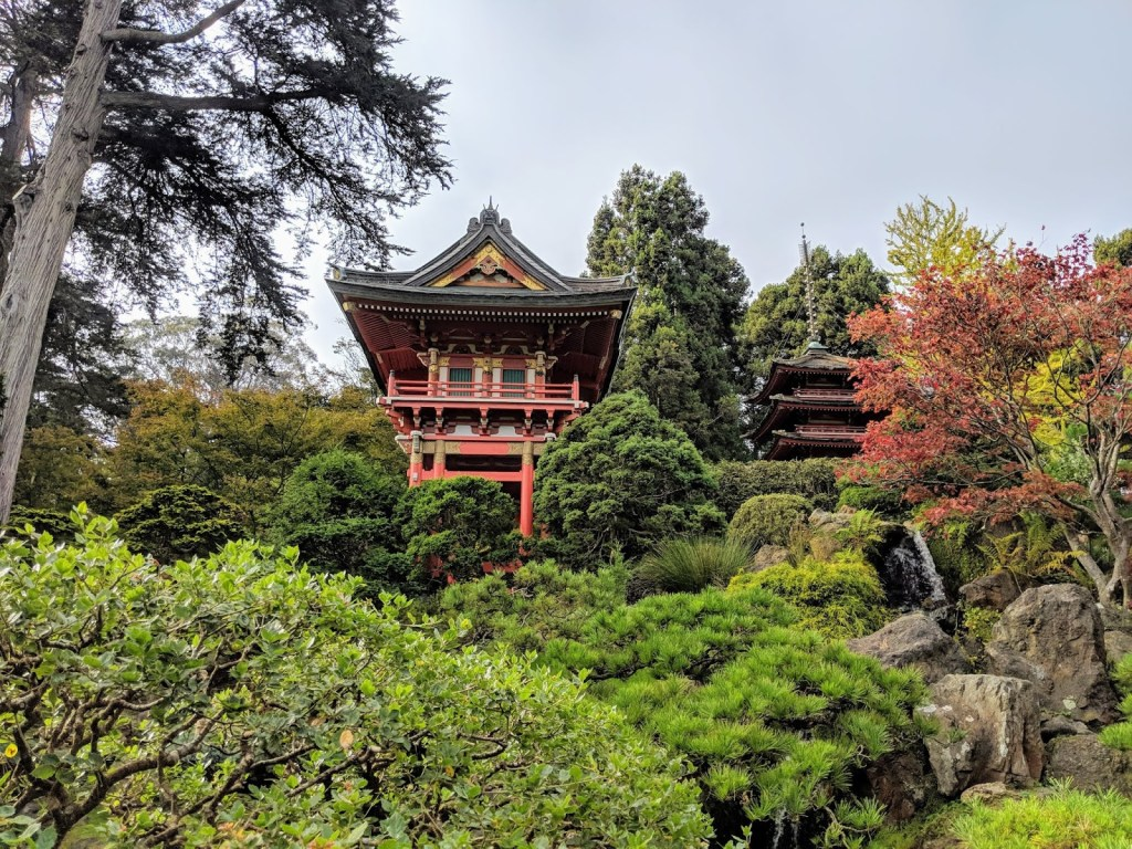 Visit Japanese Tea Garden in San Fransisco California