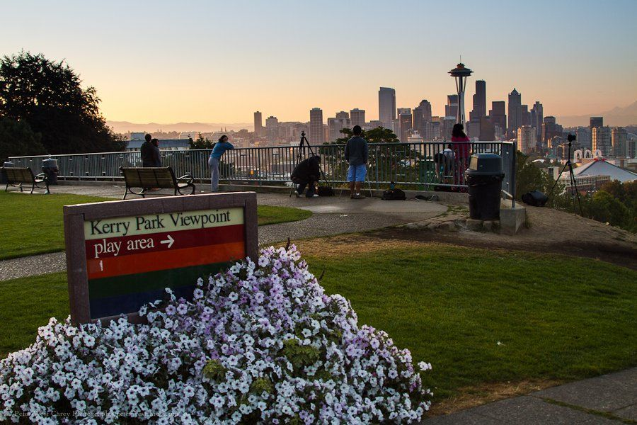Visit Kerry Park in Seattle