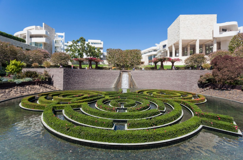 Visit the Getty Center in Los Angeles California
