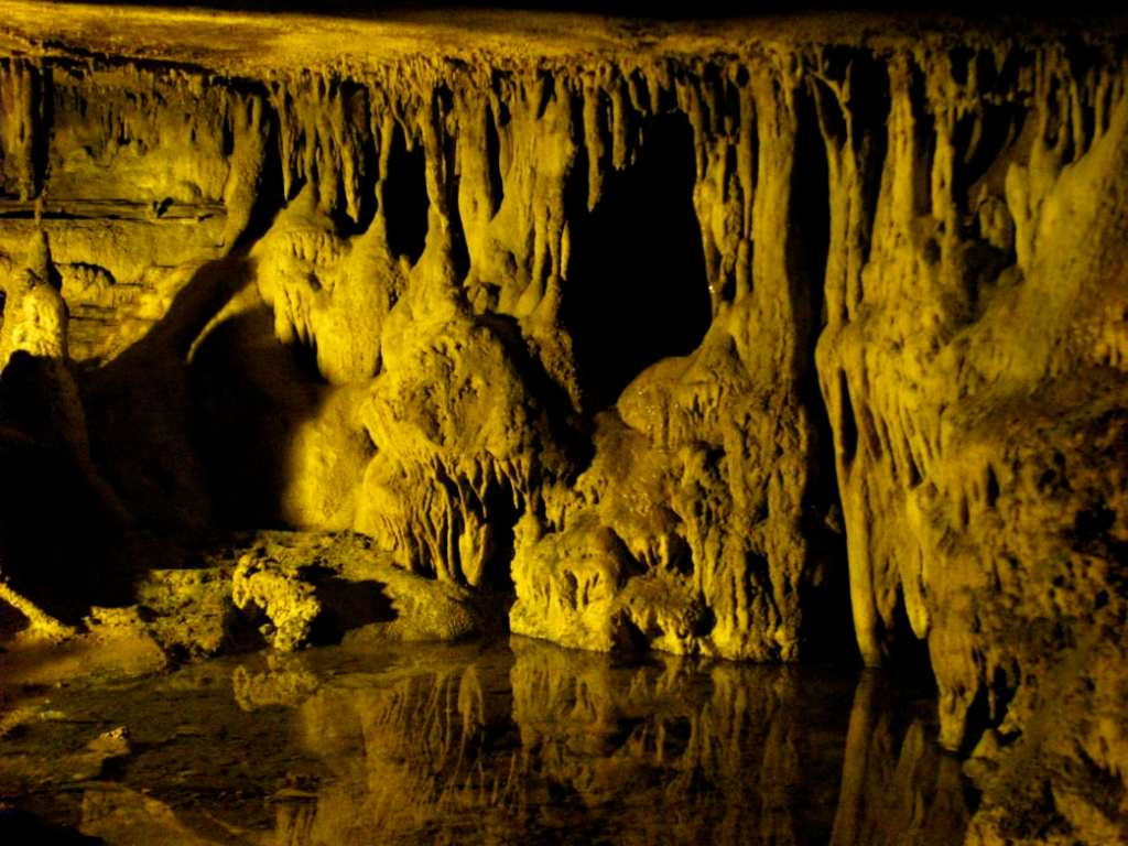 Raccoon Mountain Caves in Chattanooga