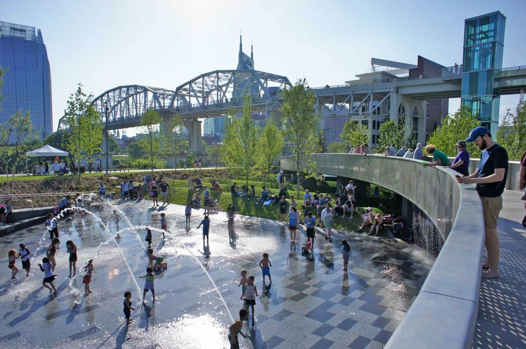 Spend Time in Cumberland Park, Nashville