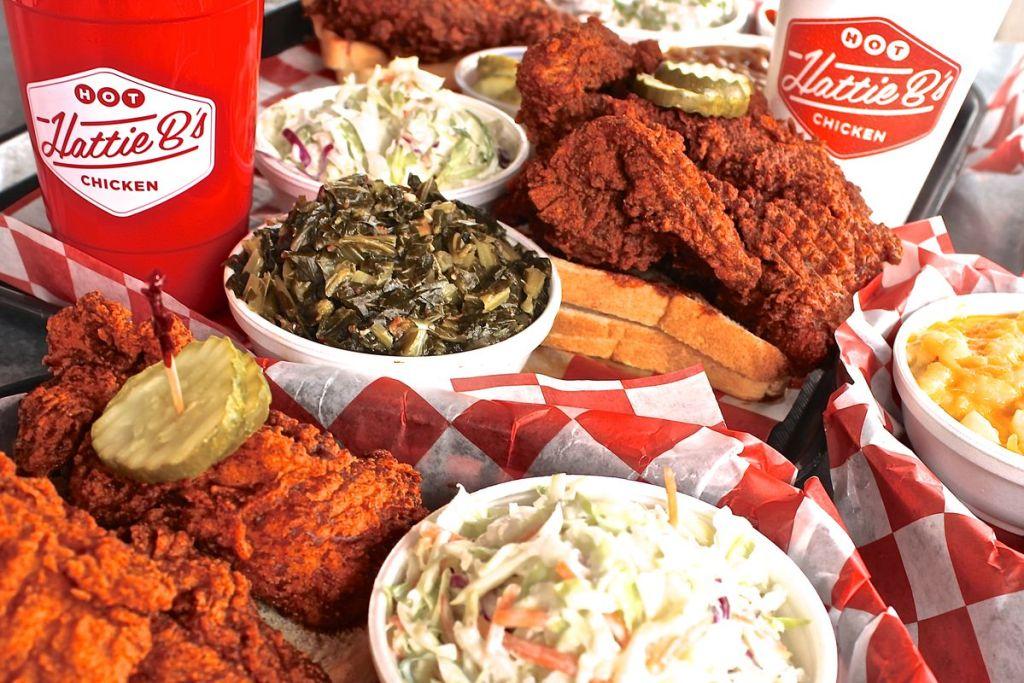 Try Hot Chicken in Nashville