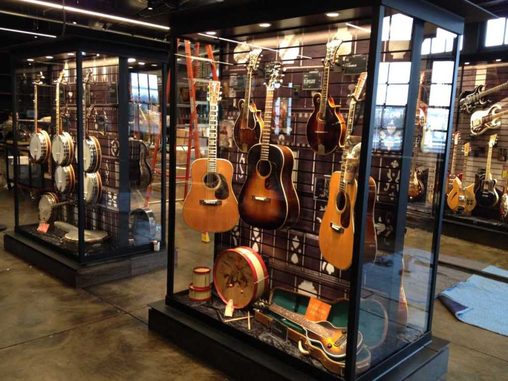 Visit the Songbirds Guitar Museum