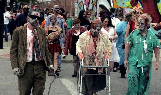 Fairborn Halloween Festival and Zombie Walk in Ohio