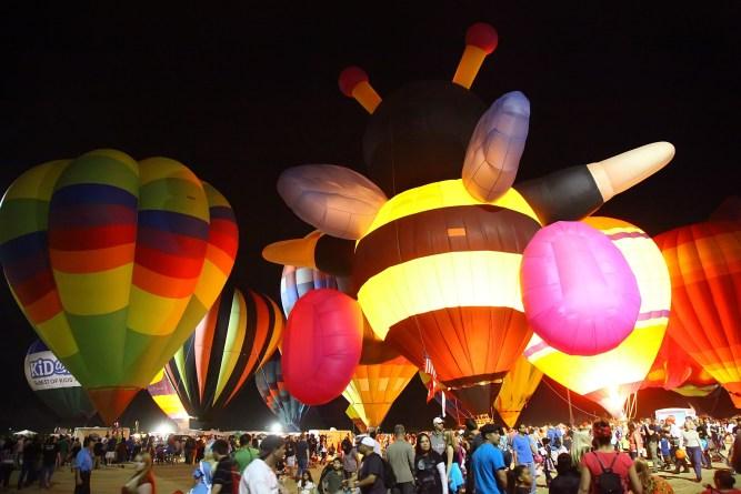 Salt River Fields Spooktacular Balloon Festival in Arizona