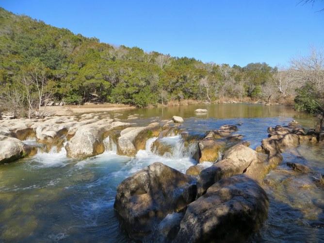 Visit Sculpture Falls Austin Texas