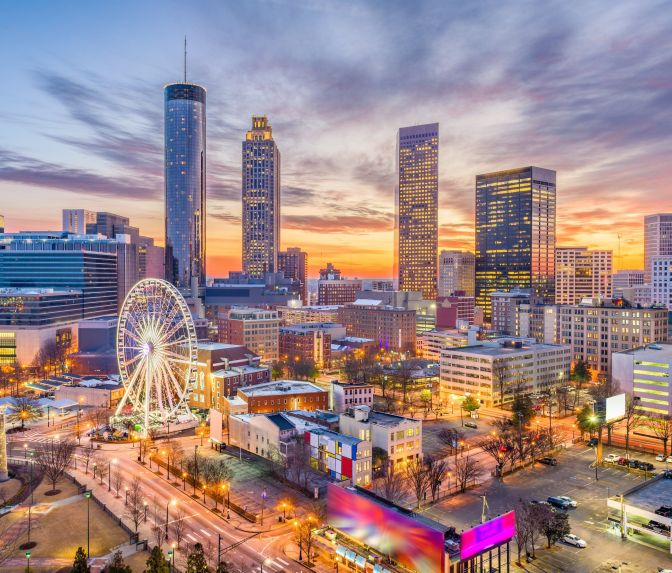 Atlanta City in Georgia