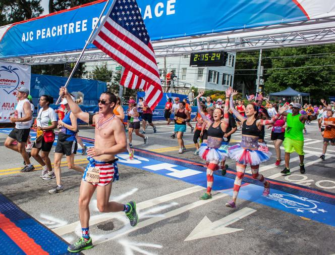 Join Peachtree Road Race