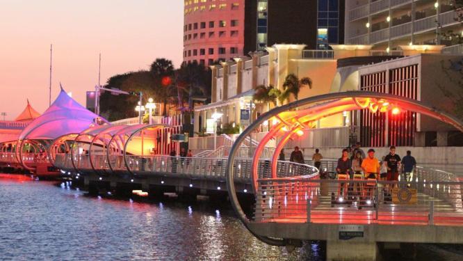 Take a Tampa River Walk in Florida