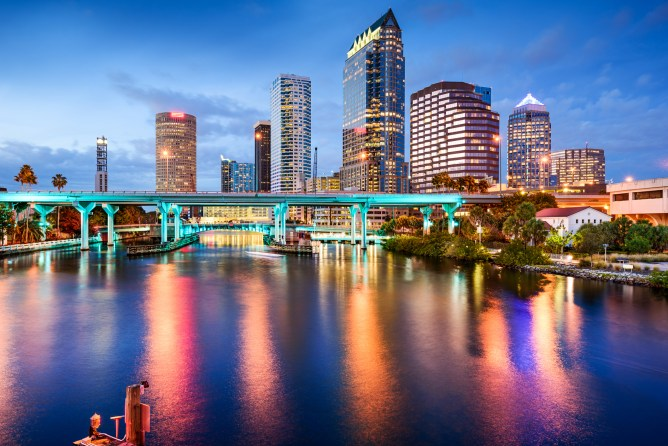 Things to do in Tampa , Visit Downtown Tampa