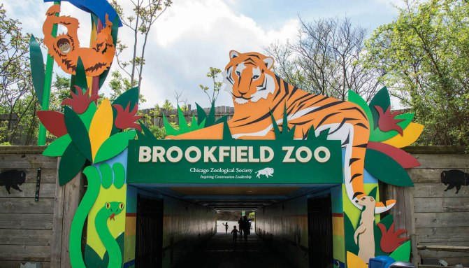 Brookfield Zoo in Illinois