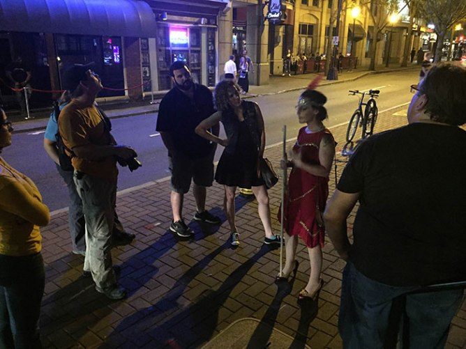 Carolina History and Haunts Ghost Tour