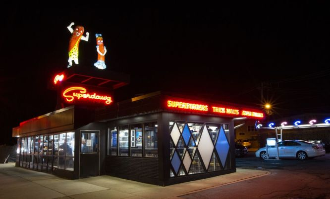 Superdawg Drive-In Chicago, Illinois