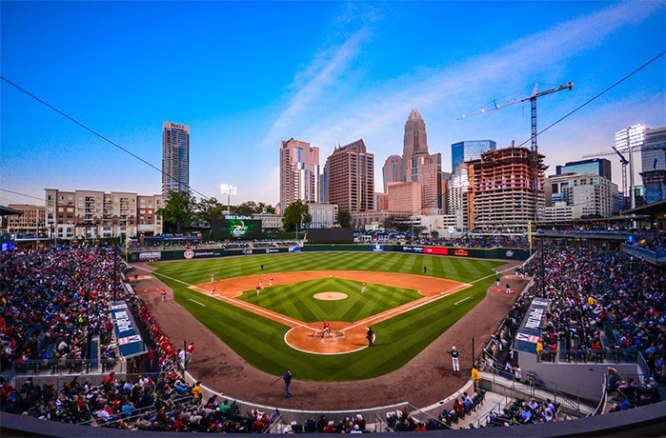 Things To Do In Charlotte NC BB&T Ballpark