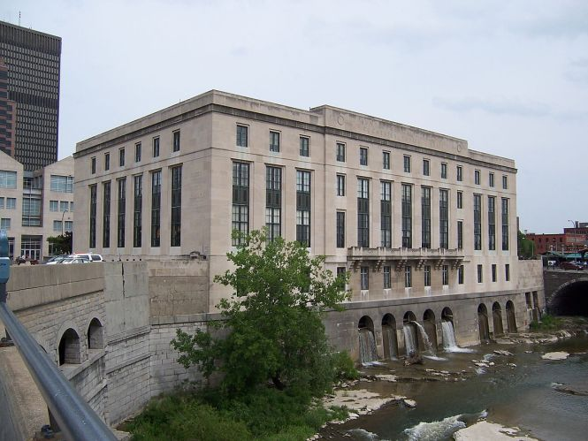 Central Library of Rochester NY