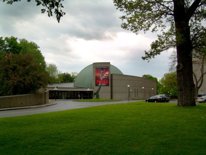 RMSC Strasenburgh Planetarium in Rochester NY