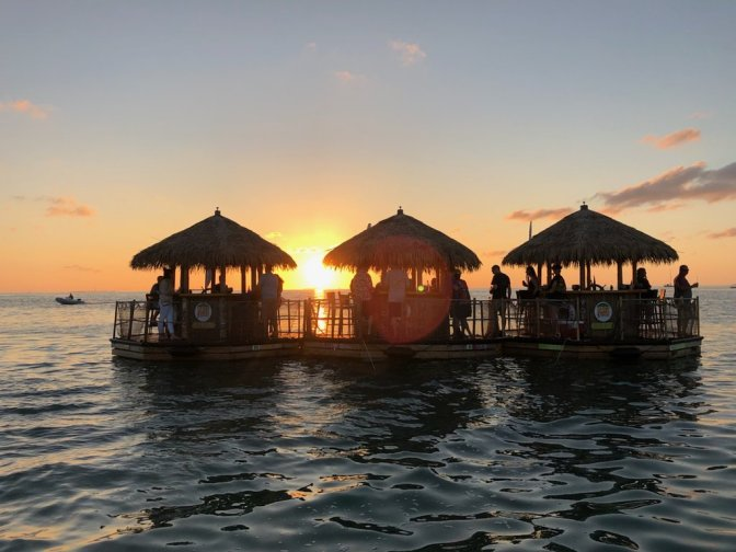 Key West Attractions Tiki Bar Cruise