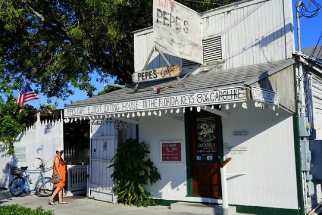 Things to do in Key West Pepe's Cafe Key West