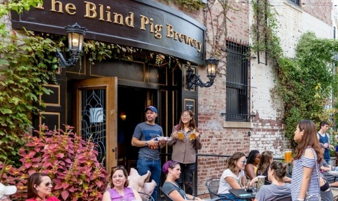 Things to do in Champaign IL The Blind Pig Brewery