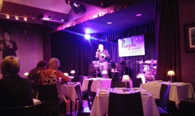 The Purple Room Supper Club Palm Springs