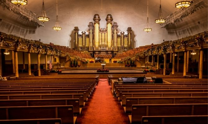 Mormon Tabernacle Choir Salt Lake City