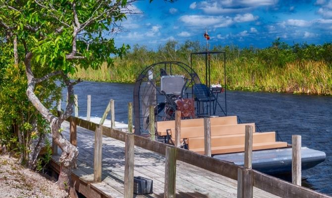 airboat rides in Everglades National Park