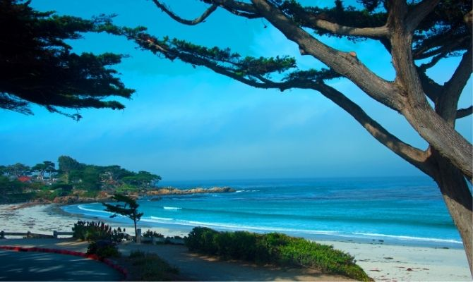 Carmel Beach Northern California