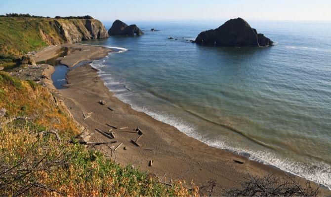 Greenwood Creek State Beach California