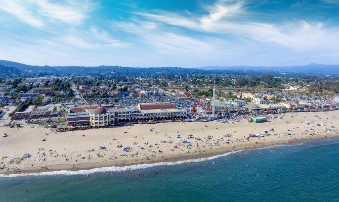 Santa Cruz Beach California