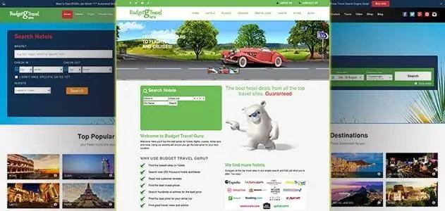 Automated Wordpress Hotel, Flight & Cruises Search Engine Script