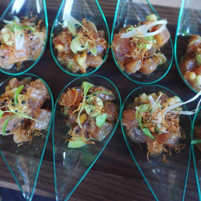 like this tuna tartare perfectly marinated with a little crunch!hellip