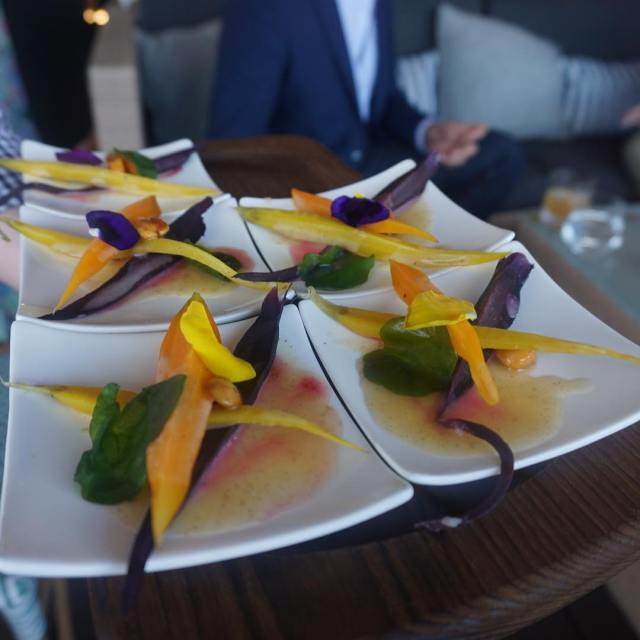 And these perfectly cooked sweet carrots With flower petals! Canthellip