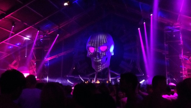 Hardcore Stage at Q-Base - the Warehouse