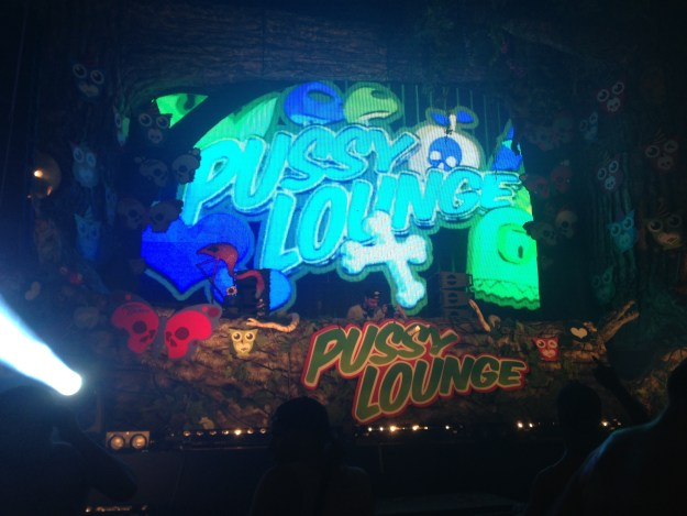 Pussy Lounge by night