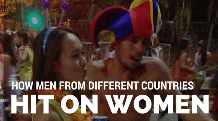 How men from different countries hit on women