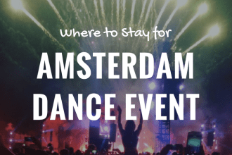 where to stay for amsterdam dance event