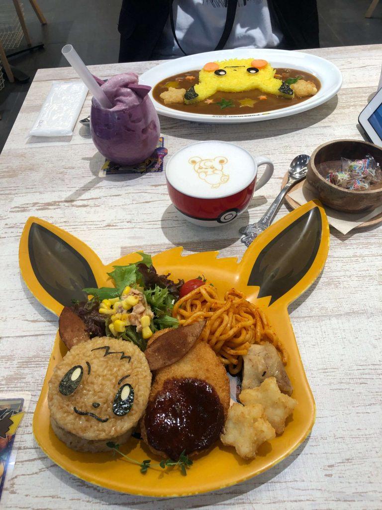 Pokemon Cafe Food