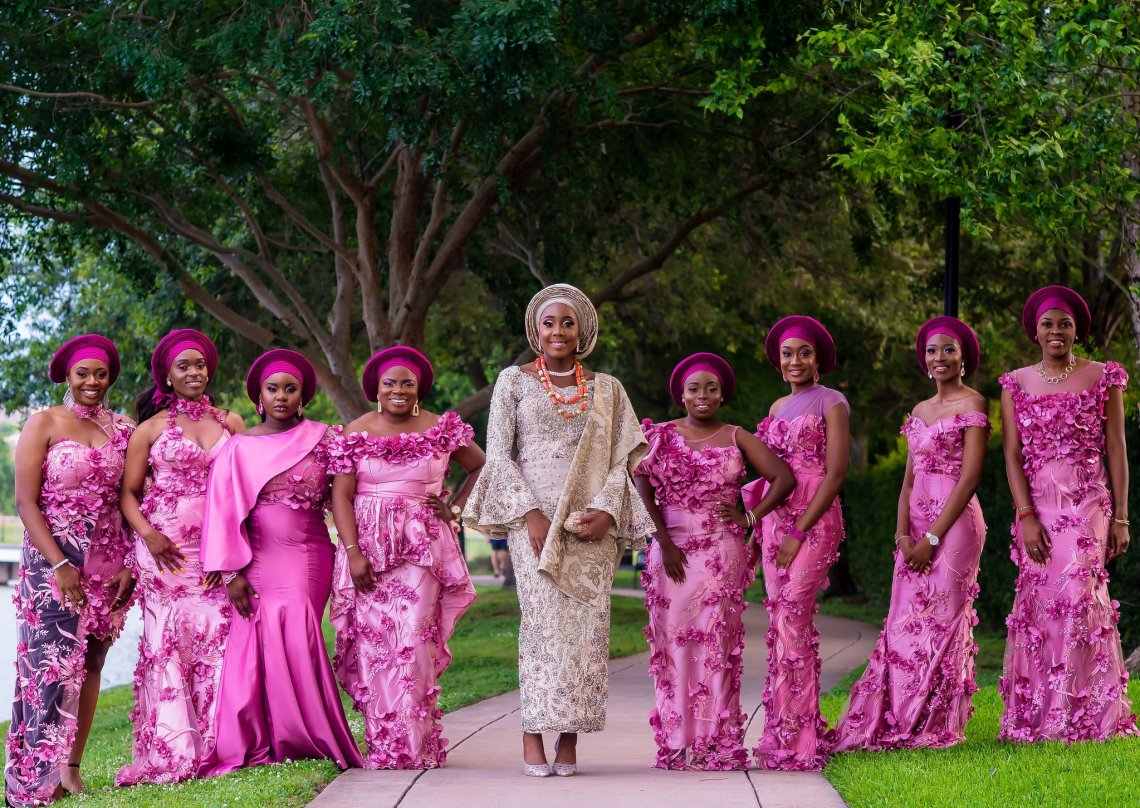 Weddings Around the World - Nigeria wedding. Photo - Olu Ogundeyin of IMG Artistry
