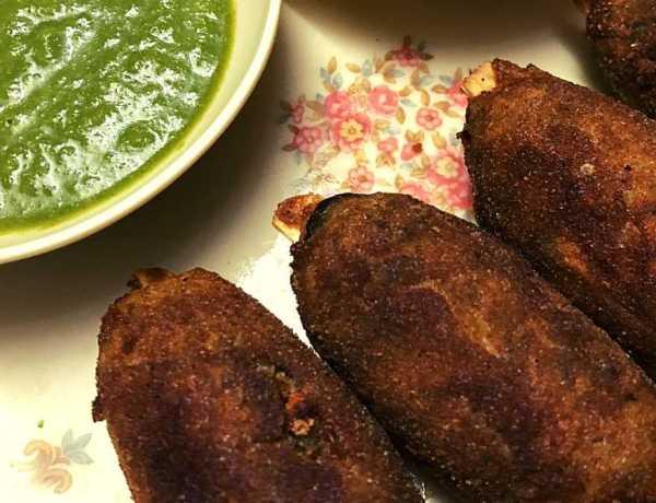 Veg Seekh kebab