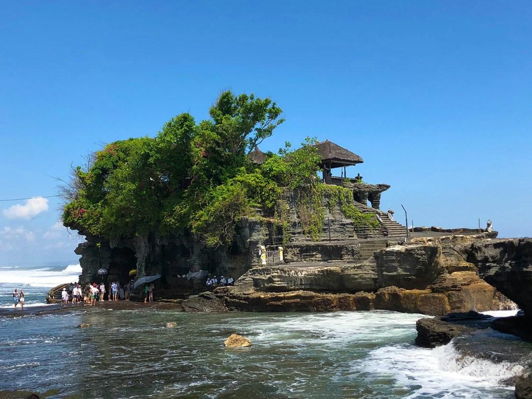 Purah Tanah Lot, tempel aan zee in Bali