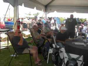 VIP Tent Relaxation
