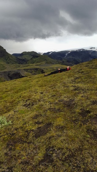 Icelanders casually taking naps in the most beautiful places on Earth