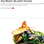 Amy Matysio my perfect saturday
