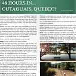 48 hours in outaouais quebec
