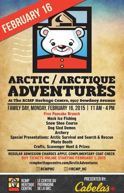 Arctic Adventure RCMP Family Day