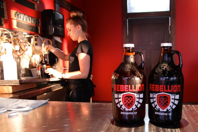 rebellion brewery jenn smith nelson